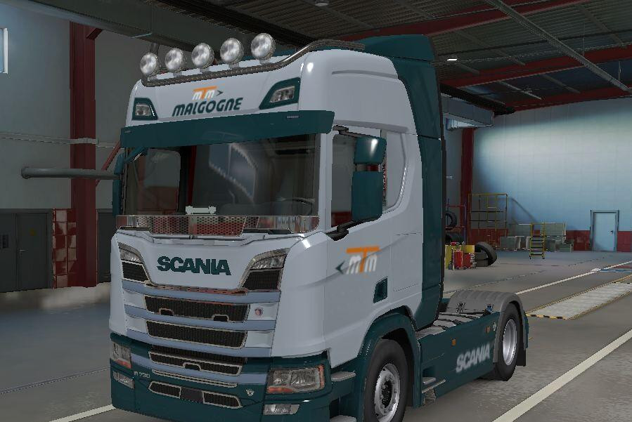 MTM Trasport Skin for Scania R 2016 Next Gen