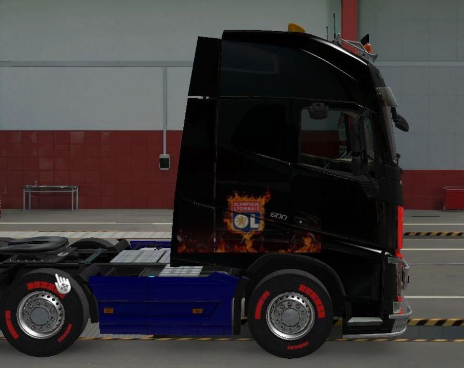 OL skin truck volvo FH Globetrotter XL