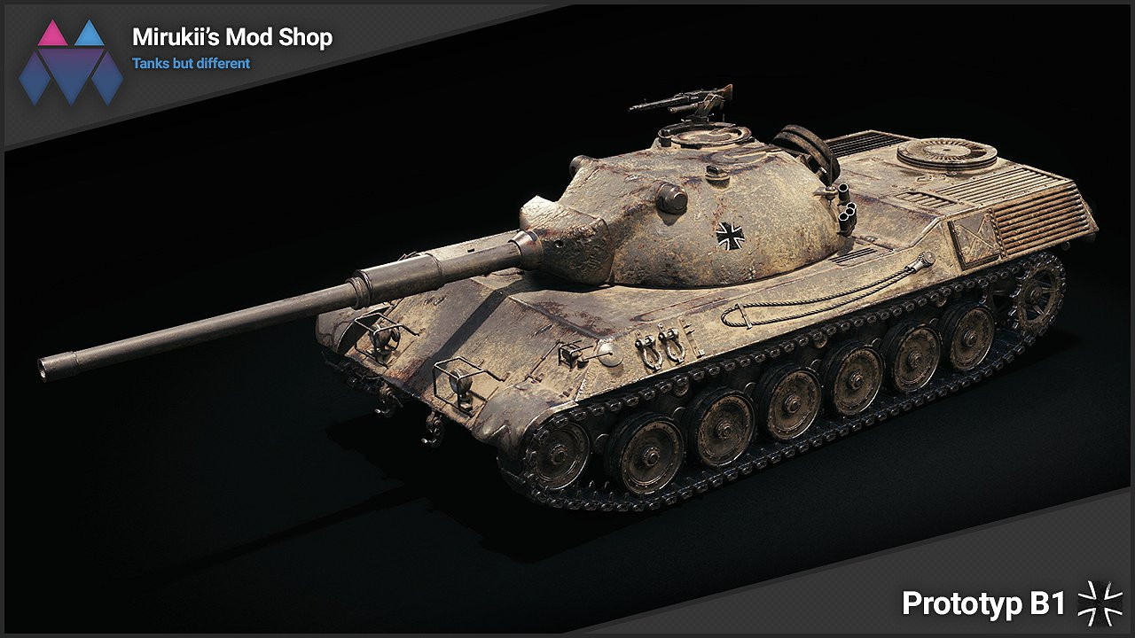Mirukii's Prototyp B1 Remodel (Leopard PT A Replacement)