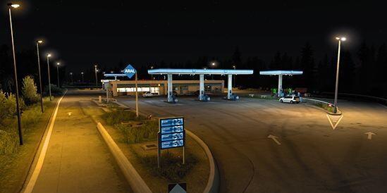 Real Gas Station v 1.01 (1.40.x)