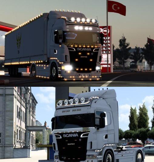 Scania r440  fix