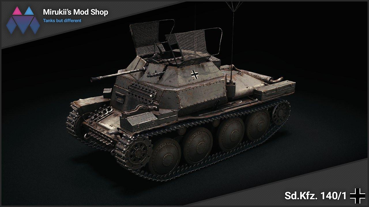 Mirukii's Sd.Kfz. 140/1 Remodel (Pz. I C Replacement)
