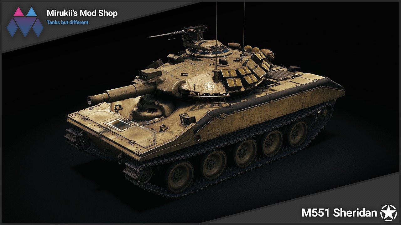 Mirukii's M551 Sheridan Remodel