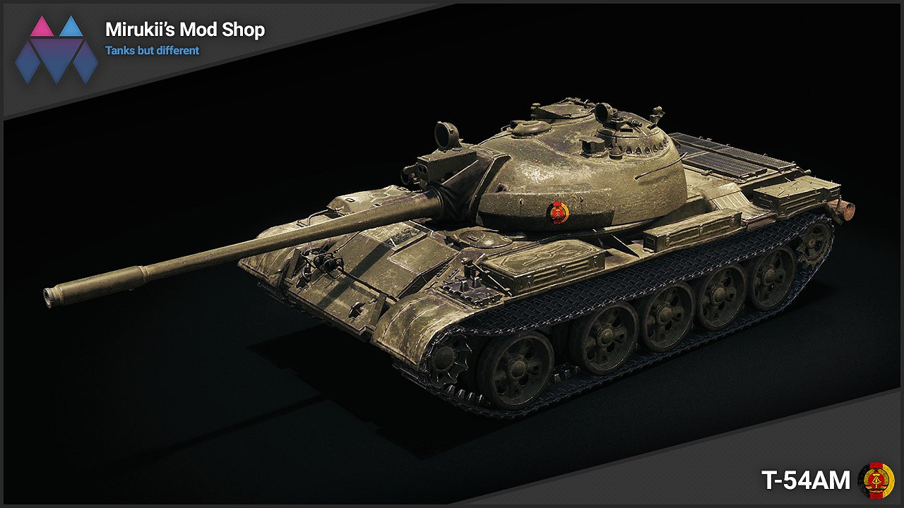Mirukii's T-54AM Remodel (T-55A Replacement)