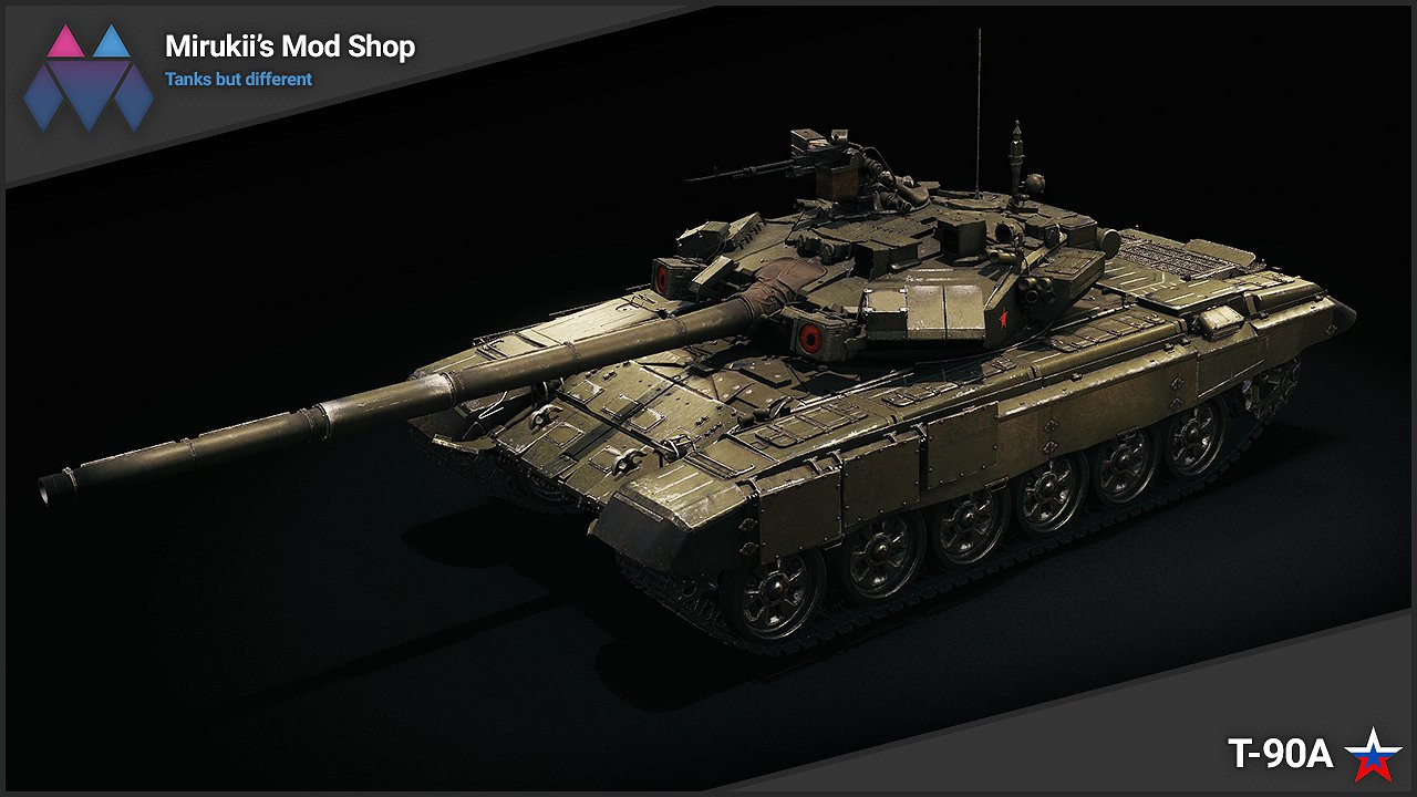 Mirukii's T-90A Remodel (Obj. 140 Replacement)