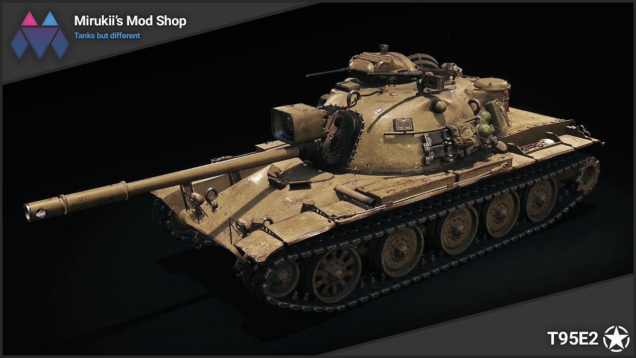 Mirukii's T95E2 Remodel