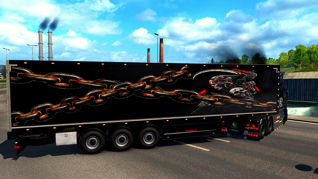 Skin for Schwarzmuller Trailer Refrigerated / The Reaper