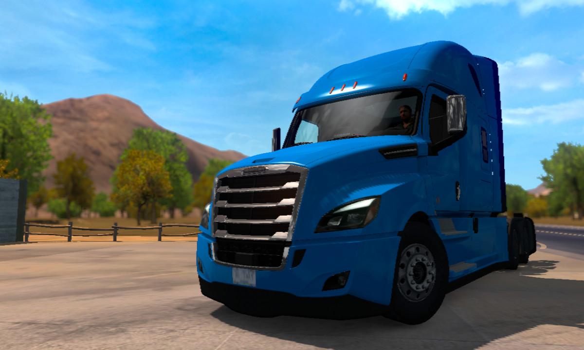 Freightliner Cascadia 2019 SCS Software ATS 1.38