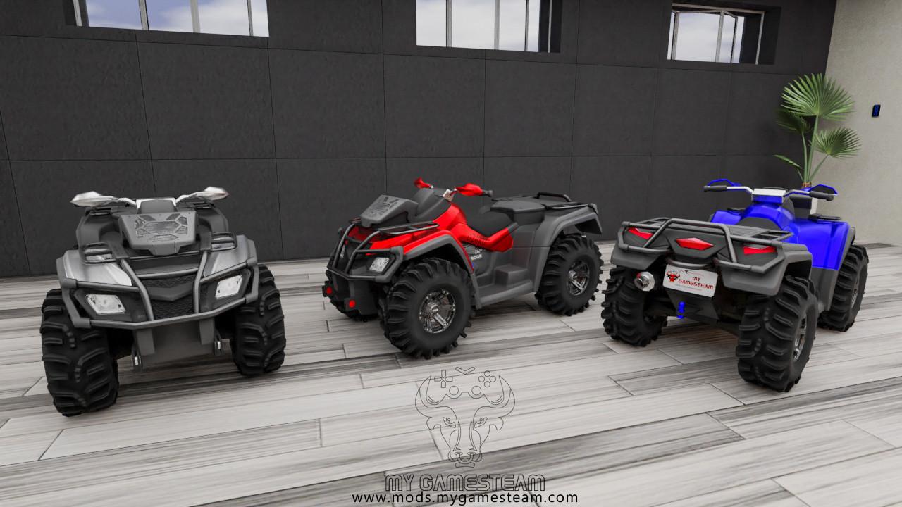 ATV 650X-MR