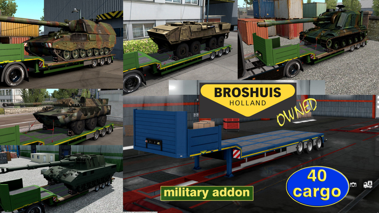 Military Addon for Ownable Trailer Broshuis