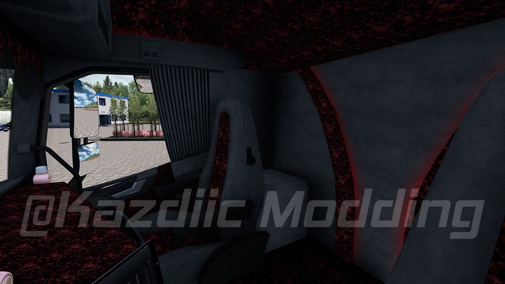 Volvo Eugene Interior by Kazdiic Modding