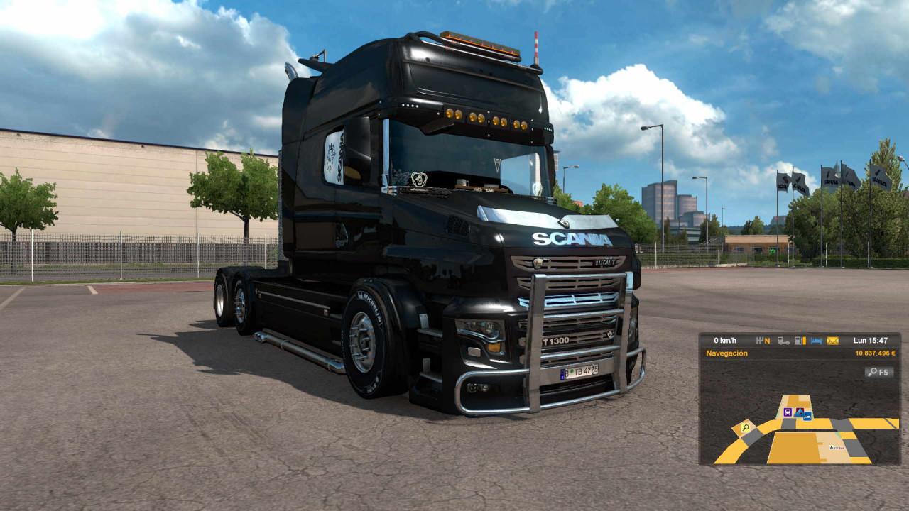 Scania T Illegal