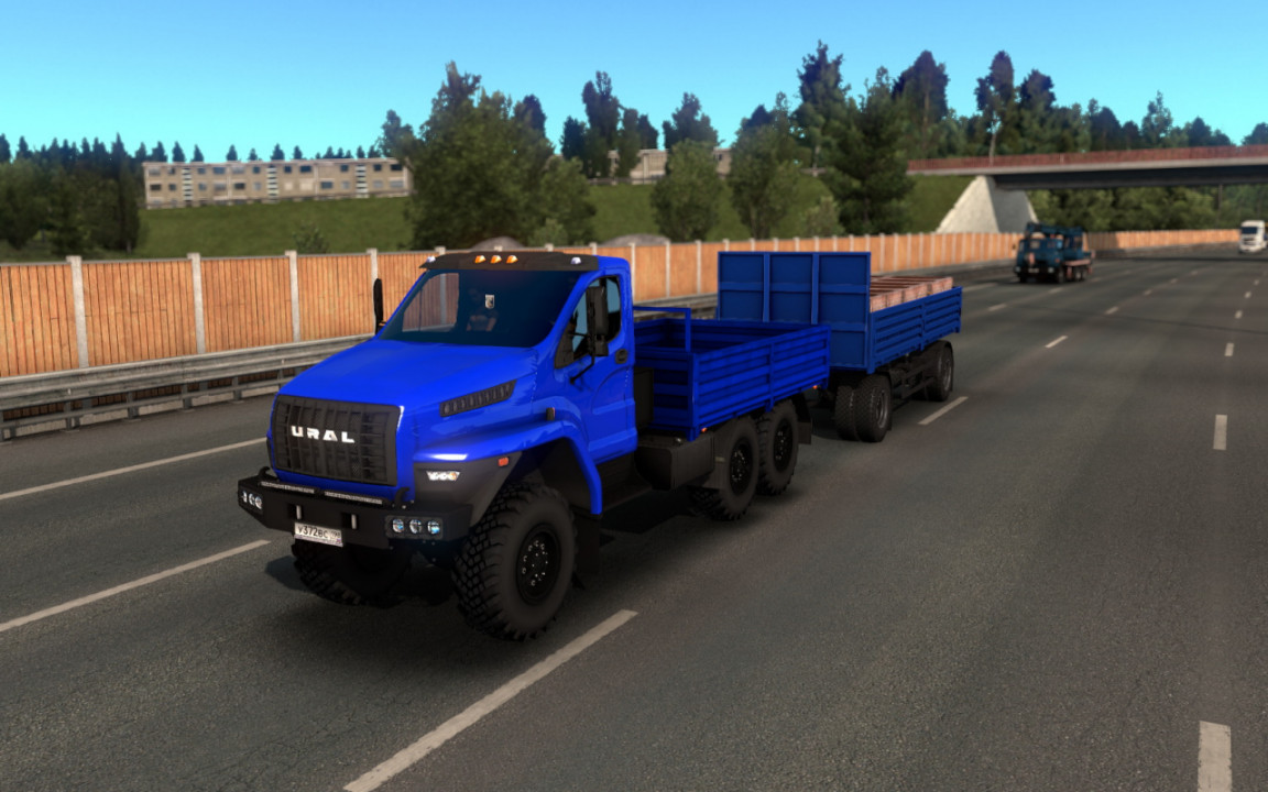 Ural Next update (with Cargo chassis)