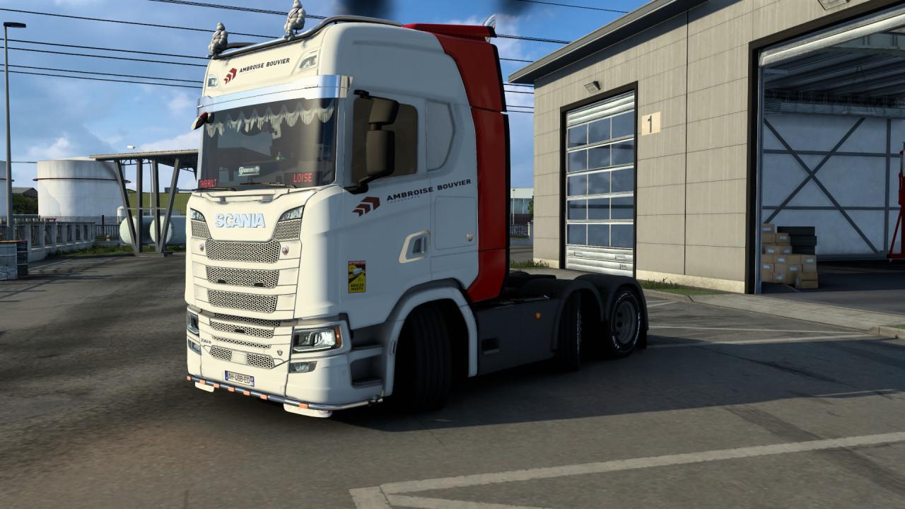 Scania de chez ambroise bouvier transports