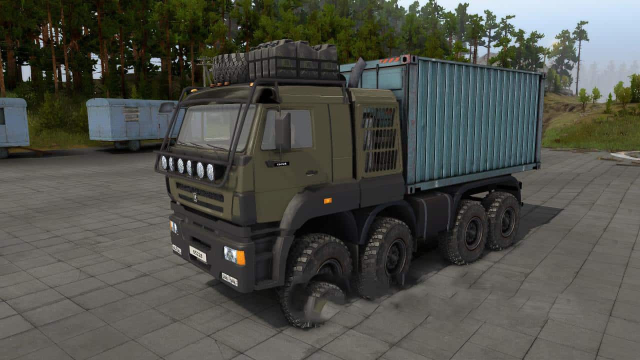 KamAZ-65228 Truck