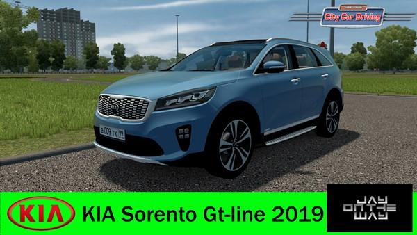 Kia Sorento Gt line 2019