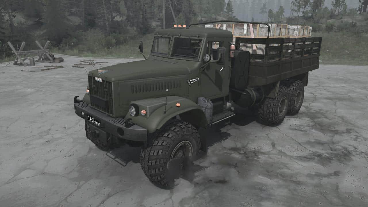 KrAZ-255B Truck