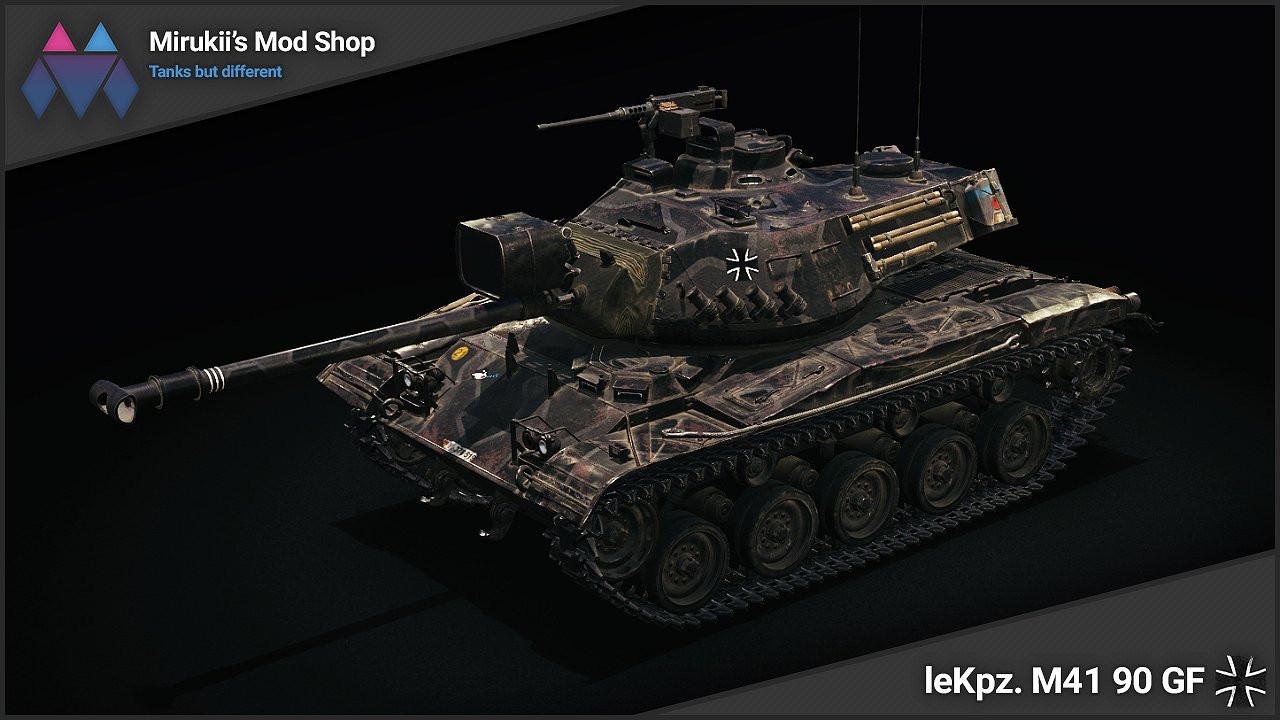 Mirukii's leKpz. M41 90 GF Remodel