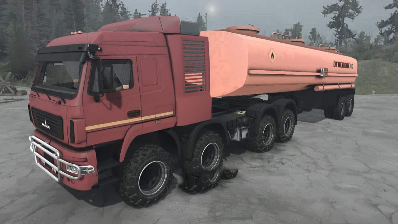 MAZ-6516B9 8×8 truck
