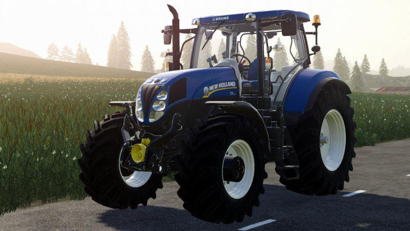 New HOLLAND TIER4A