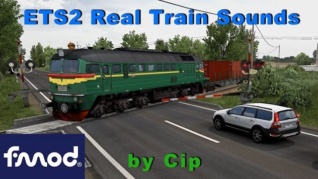 Real Train Sounds ETS2