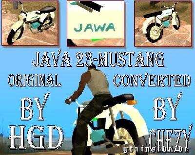 Jawa 23-Mustang