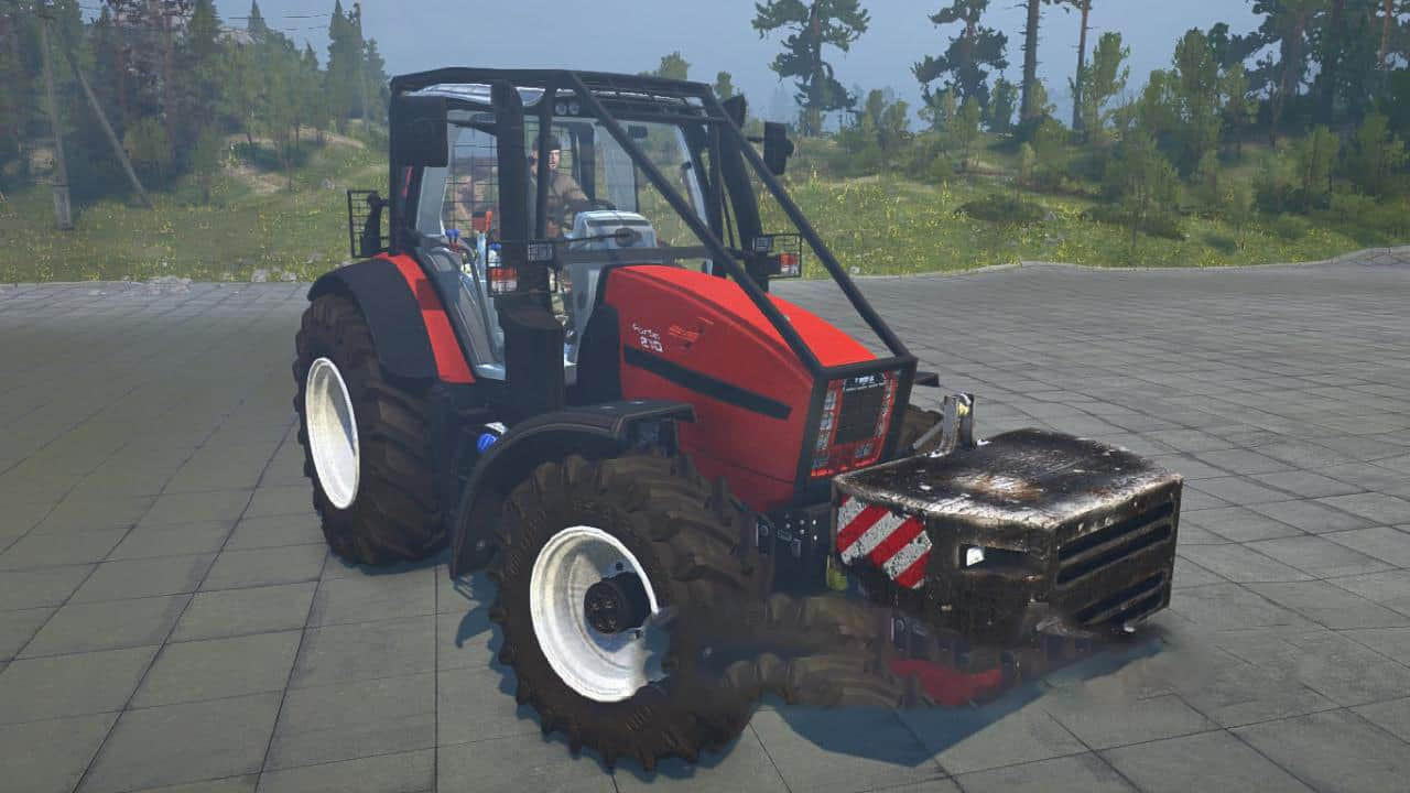 Same Fortis 190 Forestry Edition Tractor
