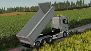 Scania S730 HKL tipper