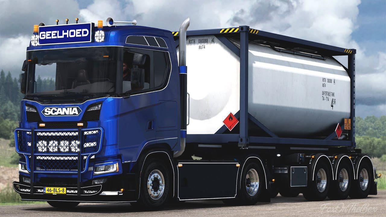 Scania S450 Geelhoed