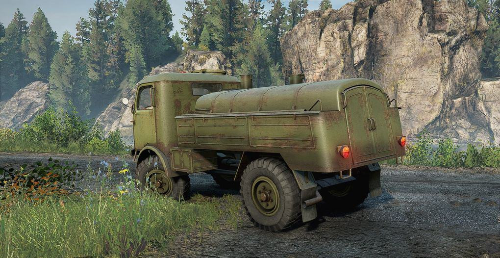 """SCOUT truck """"The Duck"""" 805"""