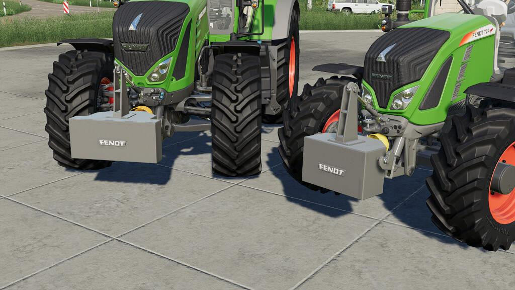 Selfmade Fendt Weights Pack