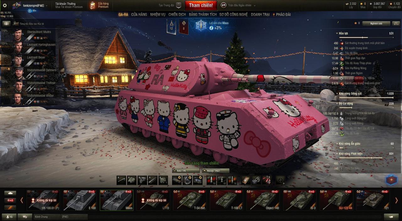 MAUS Hello kitty make by tankzorspro