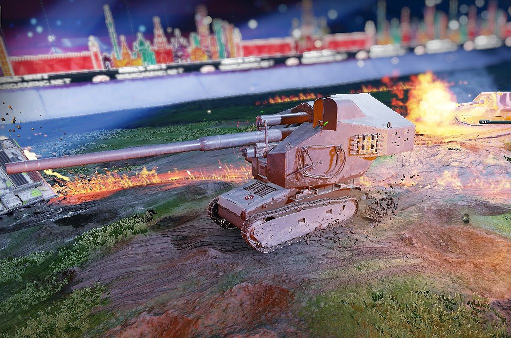 Waffentraktor E100 - First upcoming Tier 1 Premium tank :D