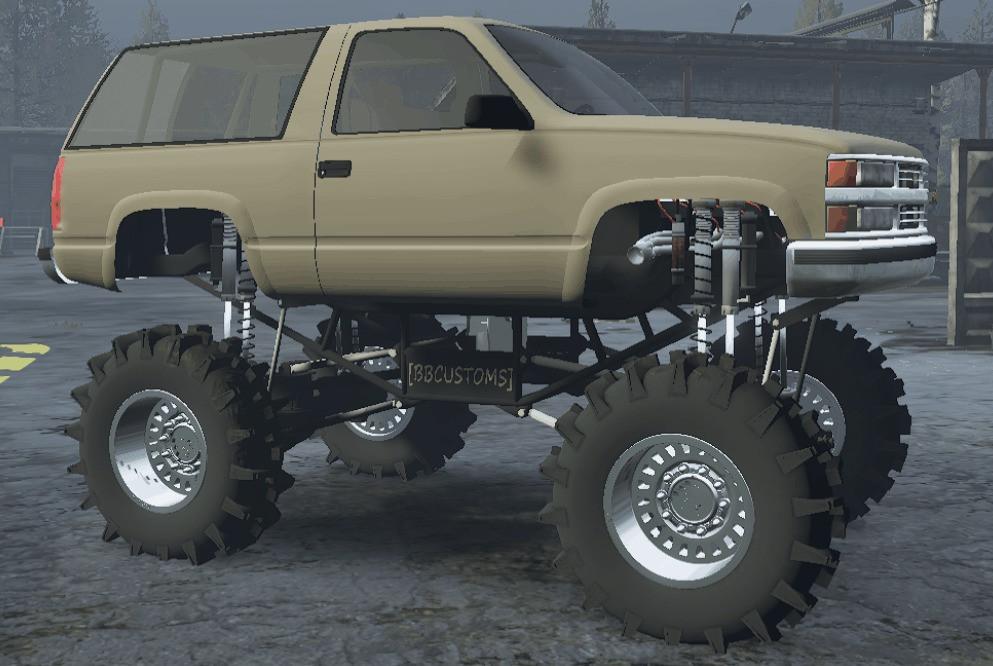 Tahoe Mega Mud Truck