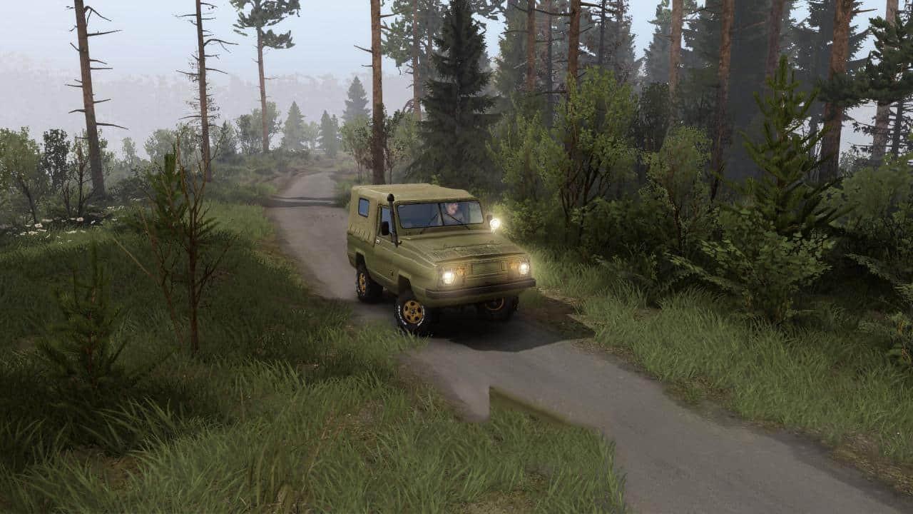 """UAZ-3907 """"Jaguar"""" / UAZ-3909 """"Jaguar"""""""