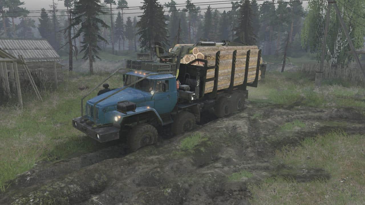 Ural 432010 8×8 Truck