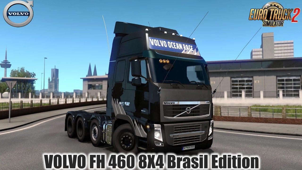 Volvo FH 460 8X4 Brasil Edition