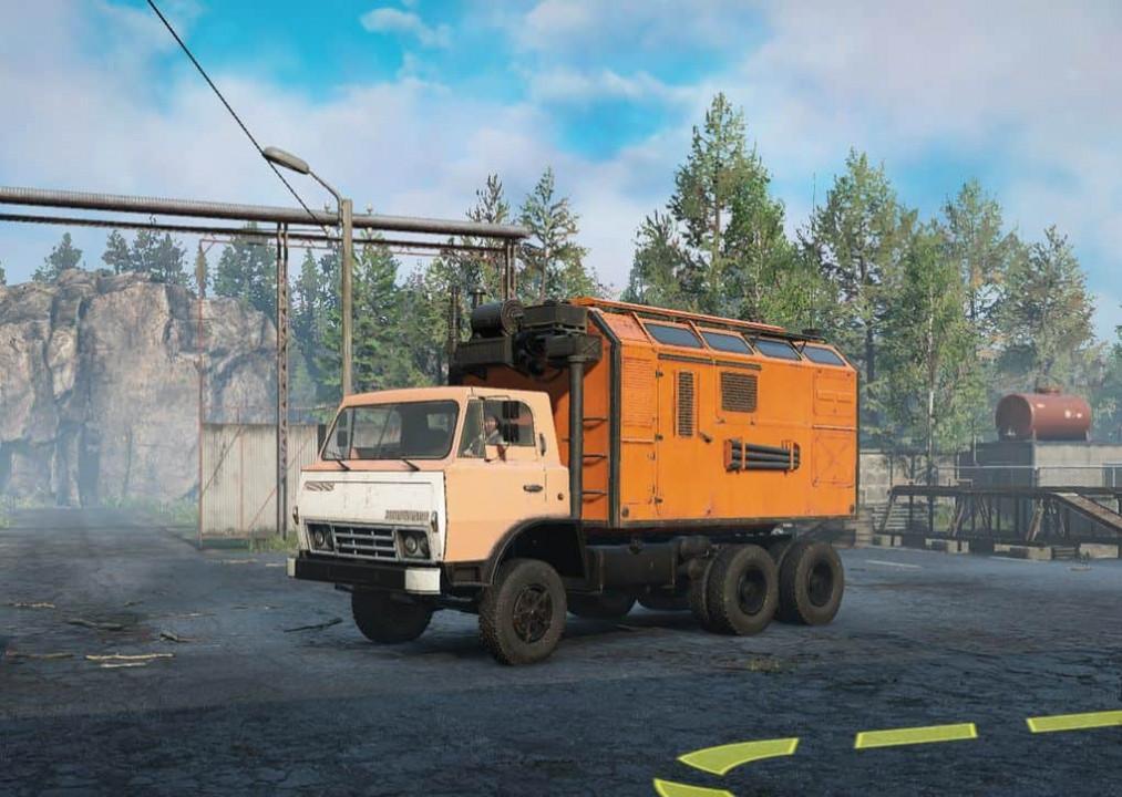 Z-170v75 Prototype Truck