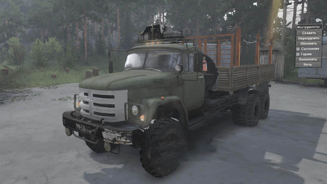 ZIL 131- (133) 6×6 Truck