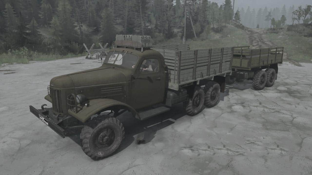 """ZIL-157 """"Babay"""" Truck"""