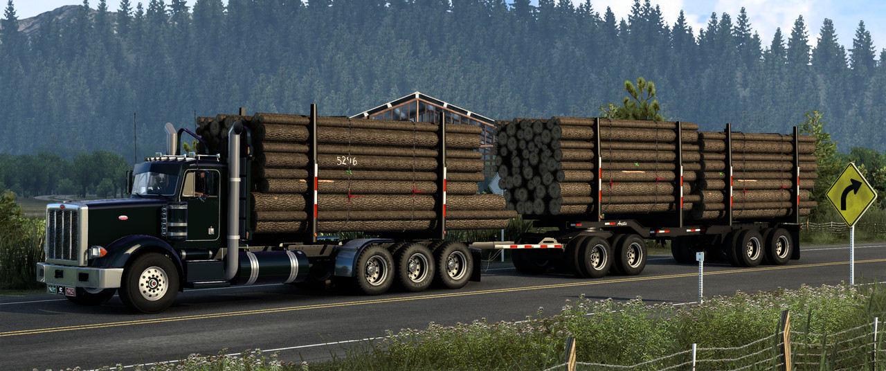 Heavy Truck And Trailer Add-On For Hfg Project 3xx