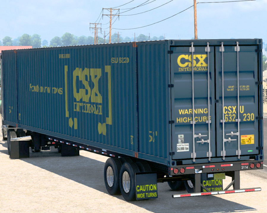 53-Foot Container Ownable