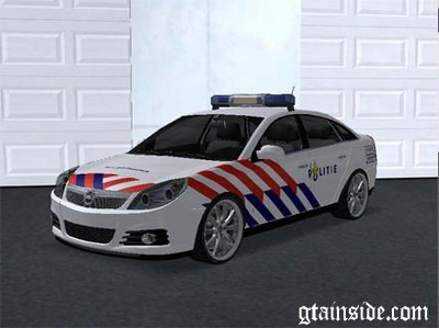 Dutch Police car texture