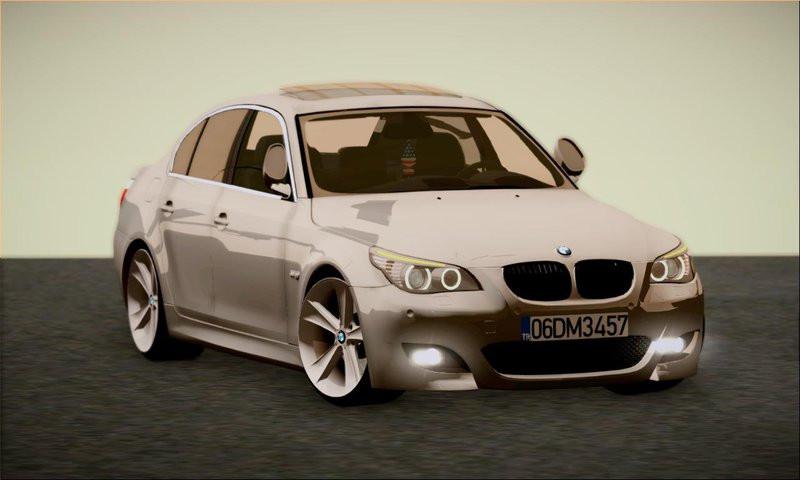 BMW E60 520D M technique