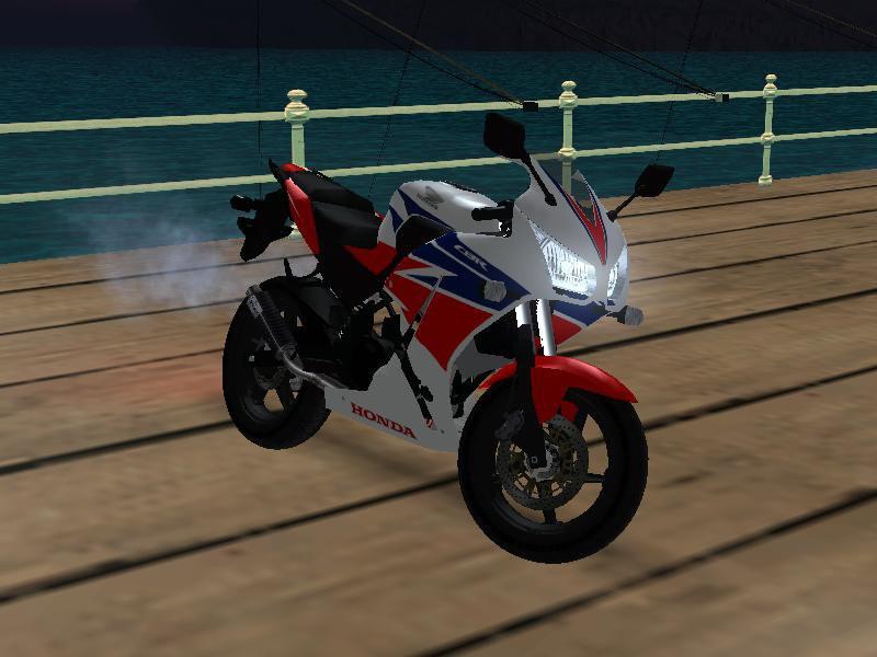 Honda CBR300R Tri Color