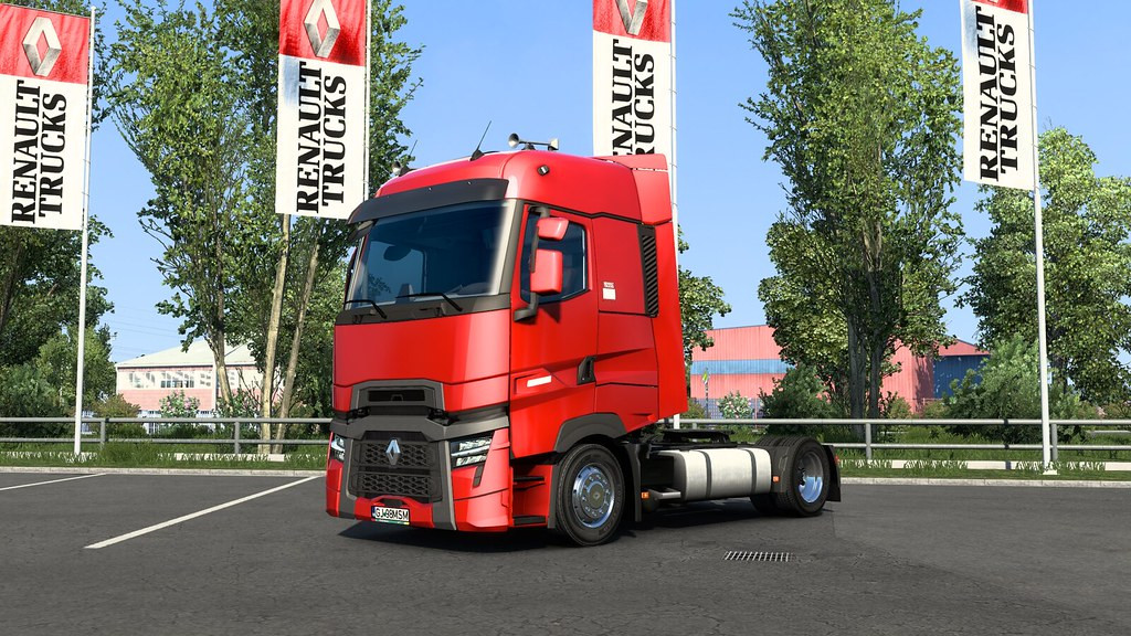 Low deck chassis addon for SCS Renault Range T