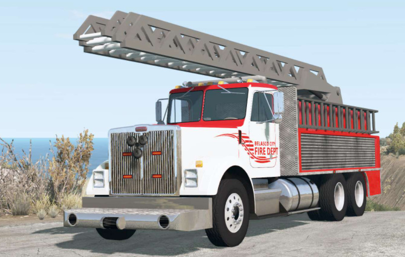Gavril T-Series Ladder Fire Truck