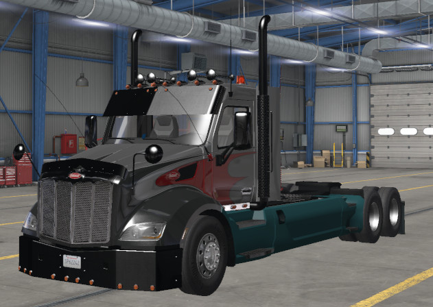 Peterbilt 579 custom ets2 1.39