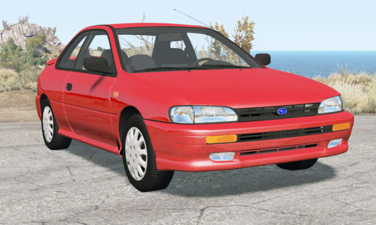 Subaru Impreza coupe (GC) 19951