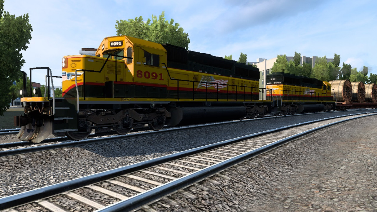Long Trains Addon Classic (to 150 cars) for Improved Trains mod